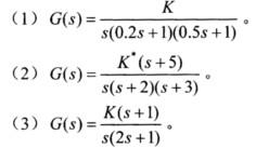 已知单位负反馈系统的开环传递方法为G(s)=,试清板门操作函数图片