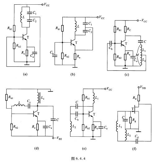 大学课.rc单管振荡电路原理图