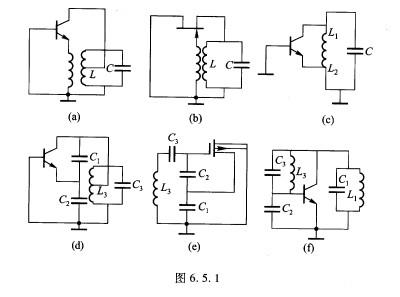 1所示的几种振荡器交流等效电路改画成实际