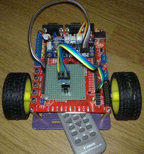 【stm32 .net mf开发板学习-15】红外遥控智能小车