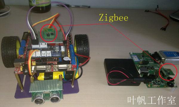 【stm32 .net mf开发板学习-16】zigbee遥控智能小车
