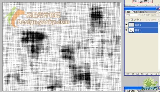photoshop滤镜特效-染色布纹肌理