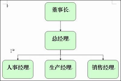 wps中画出来的组织结构图
