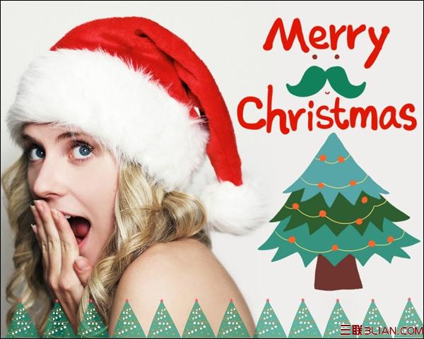 圣诞欢乐秀 美图秀秀网页版圣诞主题素材上线