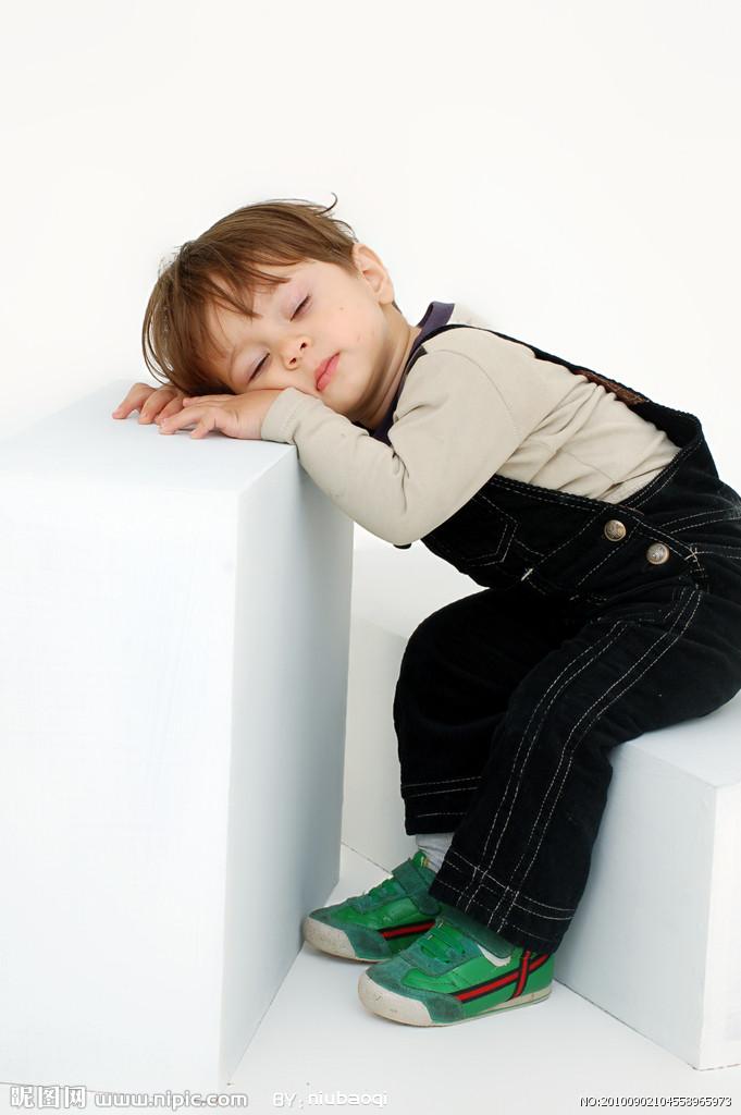 可爱孩子瞌睡头像