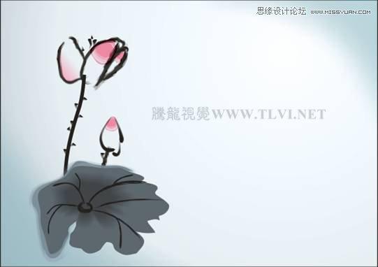 85 绘制其他图形-CorelDRAW实例教程 绘制中国风国画教程
