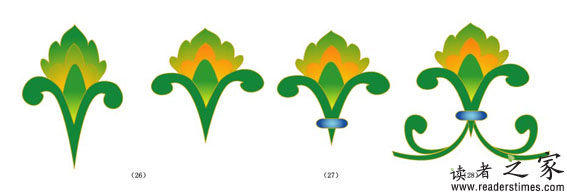 illustrator教程:古典花纹图案的设计制作_中国教程网