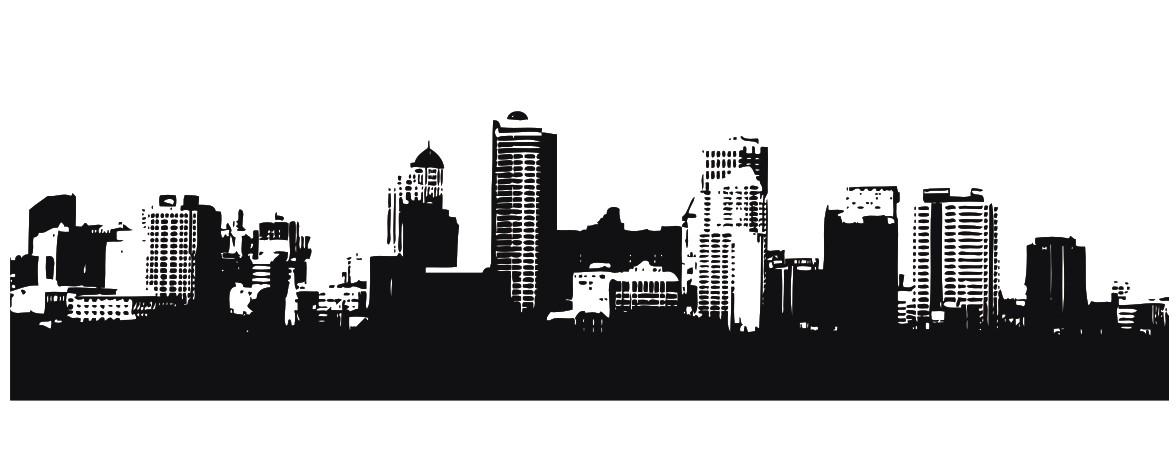 cdr绘制活力城市海报