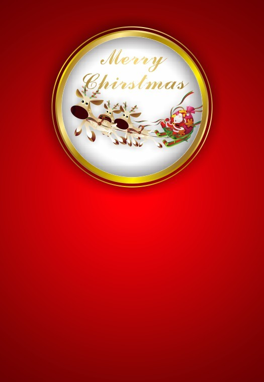 cdr制作漂亮圣诞海报