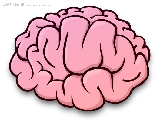 收集一些参考材料和图像/大脑的插图.医学书籍是一个不错的来源.