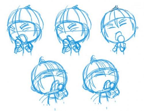 绘制q版人物插画和动画表情