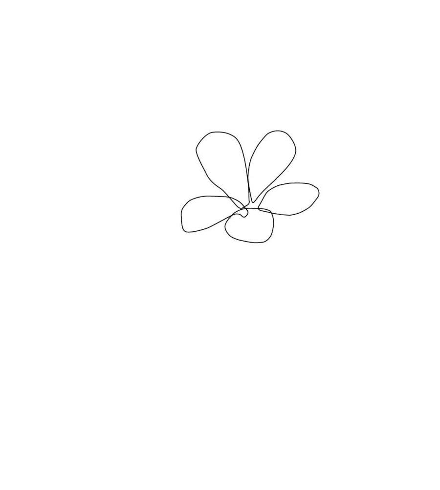 ai网格工具绘制一朵可爱小花教程