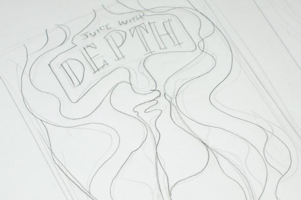 8k纸铅笔风景画简单易画