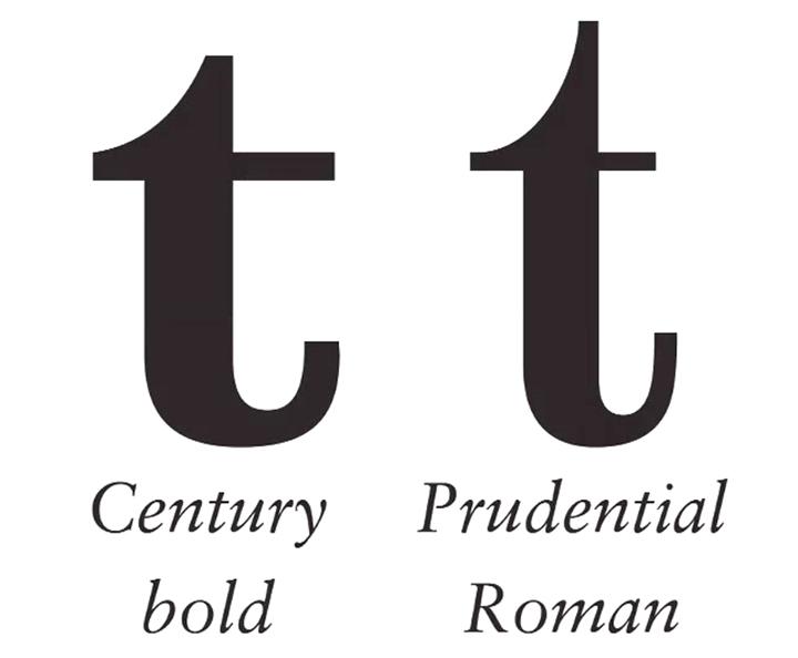 标识字体设计中的细节分享