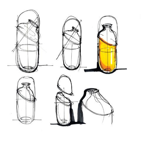 工业设计速写手绘图片