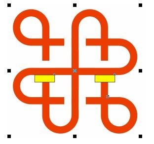 cdr制作中国联通标志