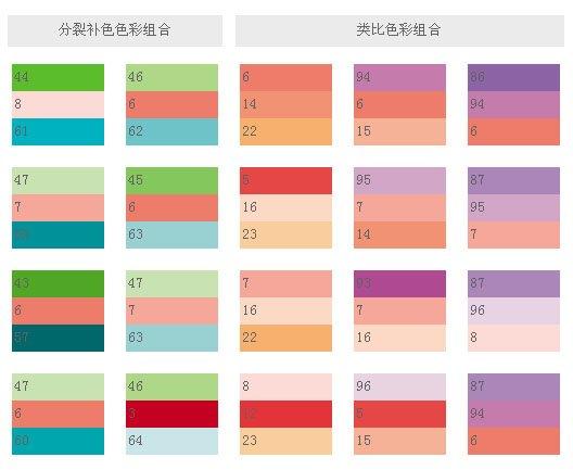 ppt配色方案图谱_配色方案图谱 _排行榜大全