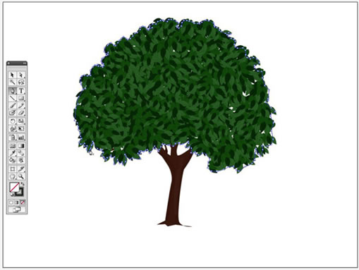 树木简笔画 大全 步骤