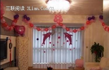 婚礼气球布置效果图欣赏