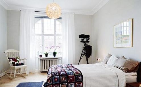 北欧风格的卧室设计图片