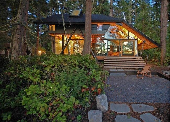 海湾森林木屋