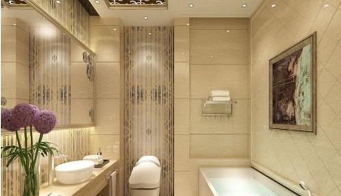 漂亮时尚的欧式卫生间装修设计