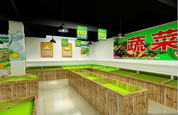 水果店 水果店装修效果图 水果店吧台