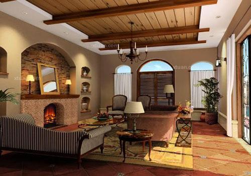 分类导航 生活百科 家居装修 室内设计理论 > 西班牙风格别墅