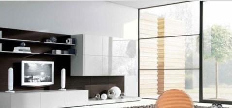 12种简约风格电视背景墙设计