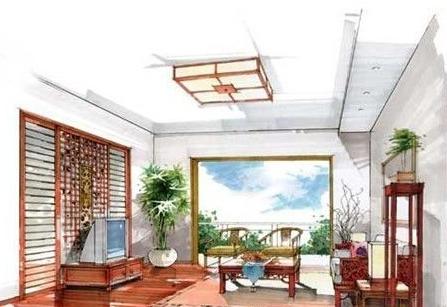 室内设计效果图手绘上海室内设计公司有哪些图片