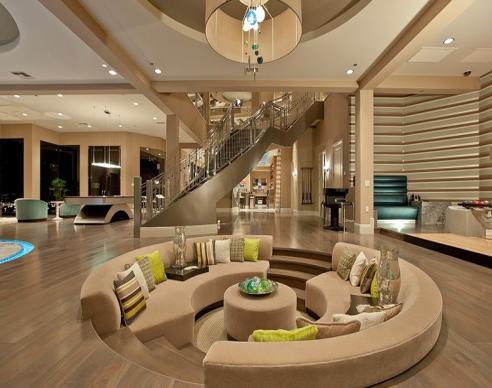 圆形木结构别墅