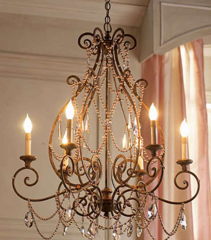 典雅的欧式吊灯