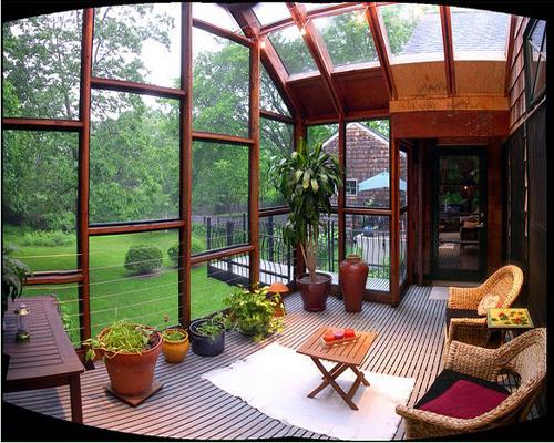 别墅庭院装修设计效果图