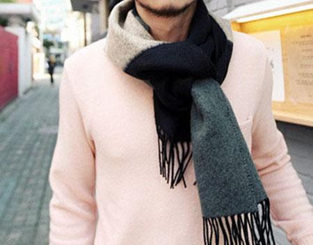 如果你不想学围巾的各种围法