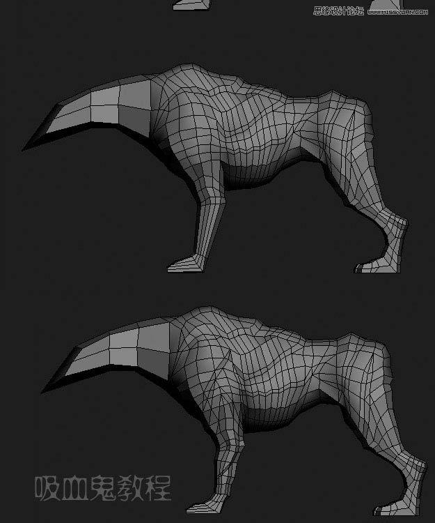 机械动物建模模型