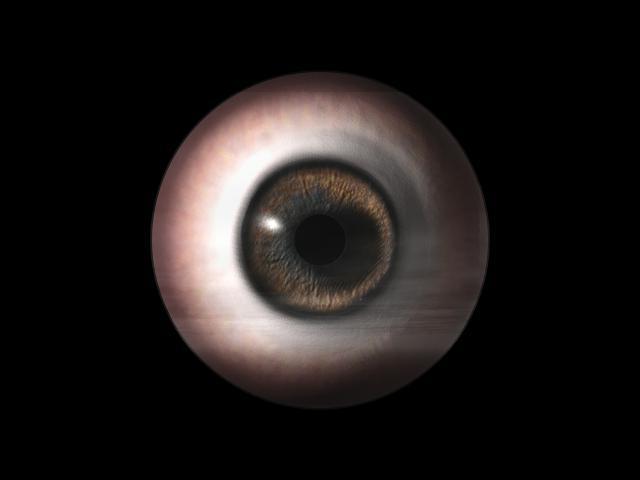 maya精细教程:程序贴图制作真实眼睛