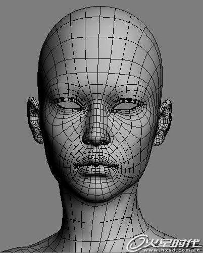 3dsmax教程:角色设计建模材质和渲染制美女