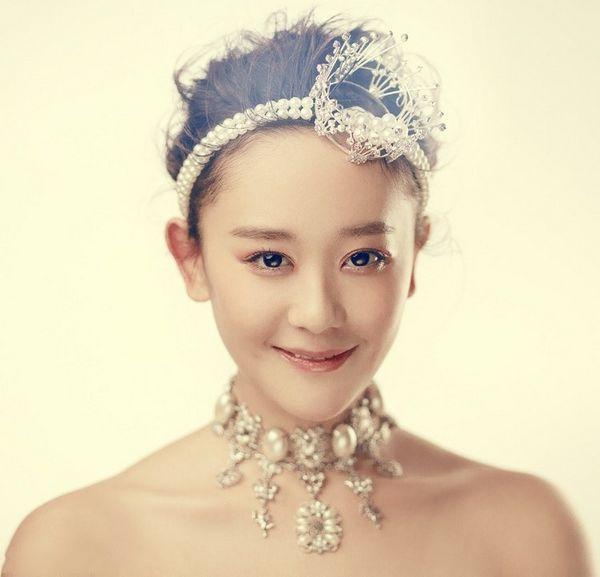 海陆甜美公主新娘造型