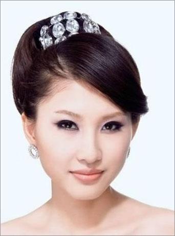 韩式新娘发型图解打造唯美造型图片
