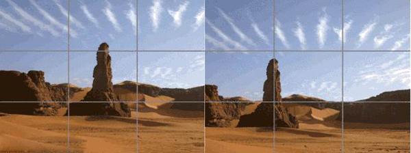让照片更漂亮的三分构图法