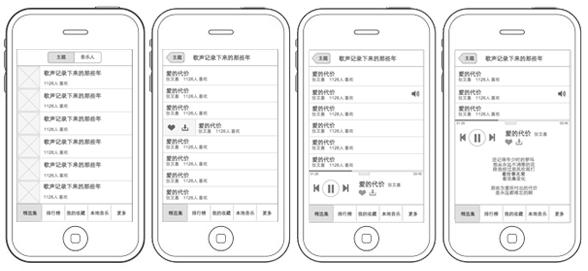 分类导航 计算机/互联网 ui设计 交互设计教程 > 音乐播放app的分析与