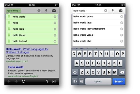 简单页面华丽变身 如何设计手机版搜索引擎