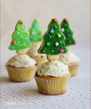 圣诞树蛋糕_圣诞树简笔画;