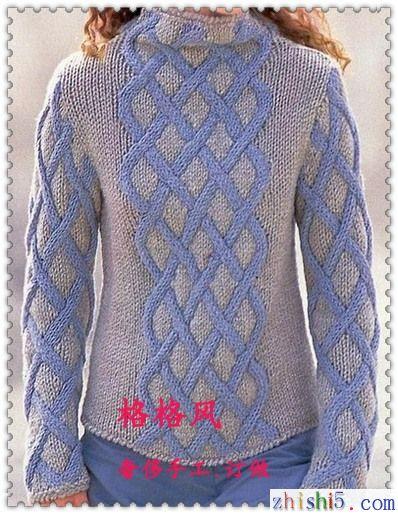 毛衣编织花样图解