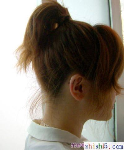 非主流盘头发方法 非主流头发的扎法