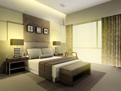 家庭装修卧室效果图